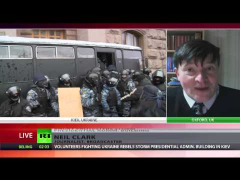 'Protests in Kiev show deep divisions growing in Ukraine'