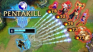 STARTING THE GAME WITH +1600G | Best Level 1 Pentakills - League of Legends
