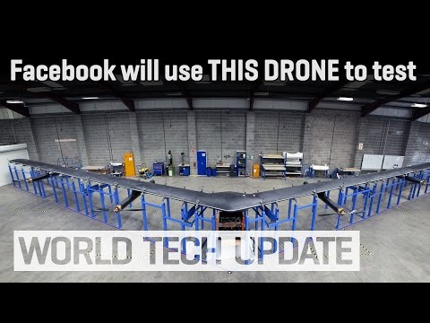 Facebook drones will deliver Internet from the sky