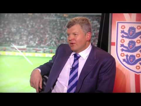 Poland v England - rain delay - Roy Keane funny reaction