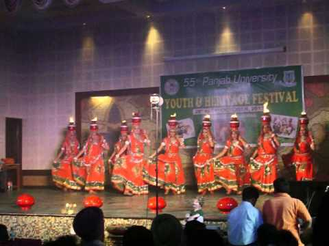 RAJASTHANI CHIRMI DANCE.....INTER ZONAL GROUP PERFORMANCE.......