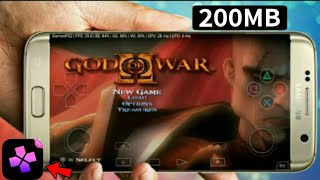 (200 MB) How to download GOD OF WAR 2 For Android Highly Compressed With Gameply Proof New Emulator