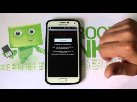 How to Root Verizon or Att Samsung Galaxy S5. S4. Note 3 on Kitkat