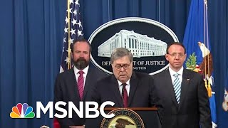 'Barr Didn't Spin The Report, He Just Lied' | Deadline | MSNBC