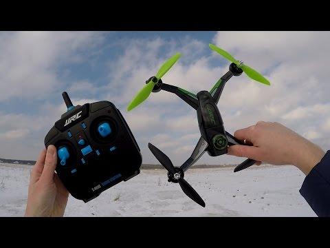 Бюджетный квадрокоптер с БК моторами...JJRC X1 With Brushless Motor RC Quadcopter