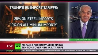 Ron Paul: G7 leaders can retaliate against US tariffs, but doubtful they will