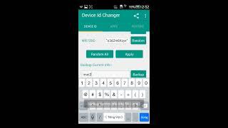 Hướng dẫn thay đổi change fake IMEI Fake GPS Fake Định Vị Serial Wifi Mac Bluetooth Mac trên Android