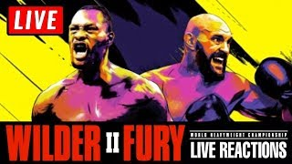 Deontay Wilder vs Tyson Fury 2 Live Reaction Watch Along Wilder vs Fury Live Stream