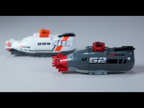 Air Hogs Dive Master Remote Controlled Miniature Submarine