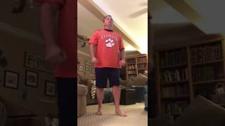 Reaction to Clemson Beating Alabama (Last 9 seconds of game)