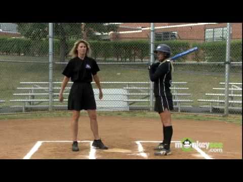 Softball Batting Skills - The Swing