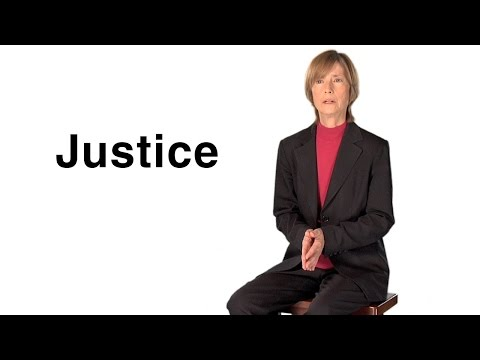 what justice means me