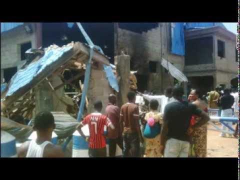 At least 50 dead in three Nigeria church bombings, reprisal attacks.