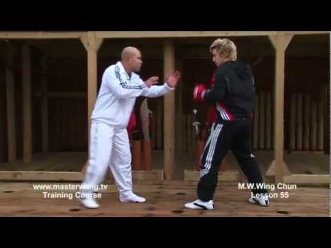Wing Chun Lesson 55:Basic spar work front kick Image 1