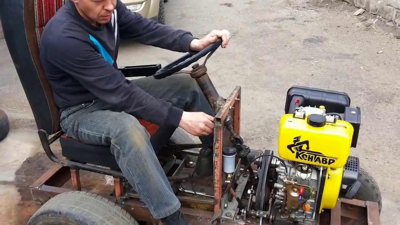Мини-трактор своими руками, фото и видео - Udec
