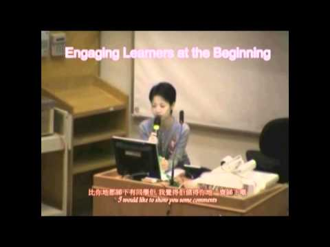 Interactive Mass Lecturing (Video 1 - Engaging learners at the beginning)