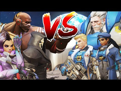 OVERWATCH VS TALON CUSTOM GAMEMODE!?