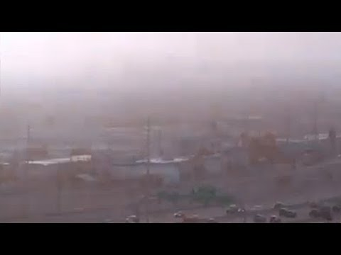 TCEQ meteorologists review El Paso dust storm in Nov. 28, 2010 video