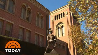 USC Puts Hold On Accounts Of Students Linked To College Cheating Scandal | TODAY