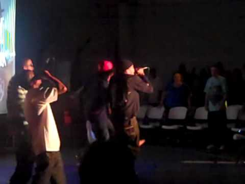 S.T.C. performing 5 Star @ J-Prince GYM in 5 Ward - Holy Hip Hop Tuesdays with Tre-9