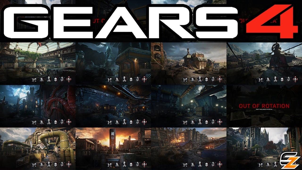 Gears Of War 4 Map Rotation Why Its Not A Good Idea