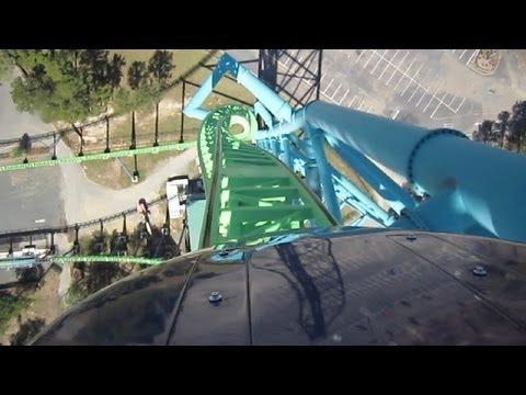 Kingda Ka Front Seat on-ride HD POV Six Flags Great Adventure