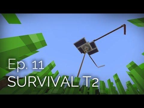 Minecraft Survival T2 Ep. 11 - Granja de Hierro casi terminada y planos de Granja en el End