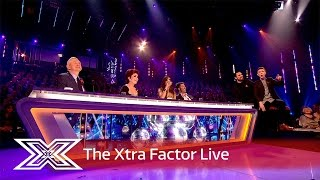 Matt and Rylan talk to the Judges after Sam's exit | The Xtra Factor Live 2016