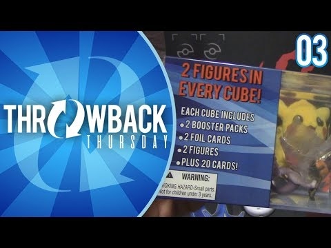 Opening Plasma Storm and a Mystery Cube of Pokemon Cards! | Throwback Thursday #3