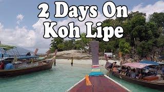 Koh Lipe Thailand 2017. 2 Days on Koh Lipe  เกาะหลีเป๊ะ สตูล