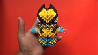 Origami 3D Wolverine
