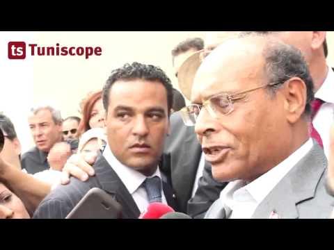 Moncef Marzouki dépose sa candidature à la Présidence