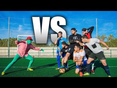 ¡¡¡CRAZY CREW VS ALIEN!!! Epic Retos de fútbol