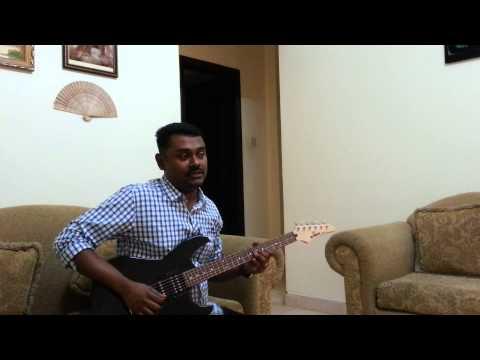Ente Khalbile Vennilavu Nee...In Guitar By Abraham