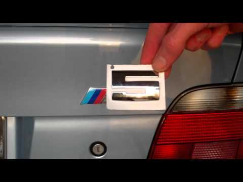Bmw Hood And Trunk Roundel Emblem Replacement How To