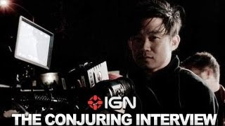 The Conjuring - James Wan and Patrick Wilson Interview - NYCC 2012