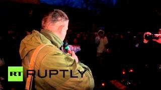 Александр Захарченко заявил о начале наступления на Мариуполь