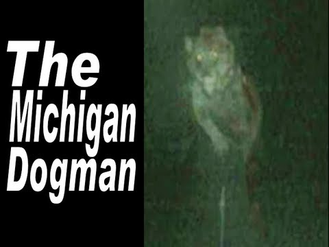 about the michigan dogman dog man legend