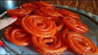 💕15 मिनट में बनाये हलवाई जैसी स्वादिष्ट जलेबी बिना खमीर 💕 Instant Quick Jalebi Recipe Street sweet