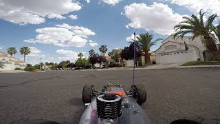 GoPro RC Wing Modification / Test / Losi 8ight 4.0 Nitro Buggy