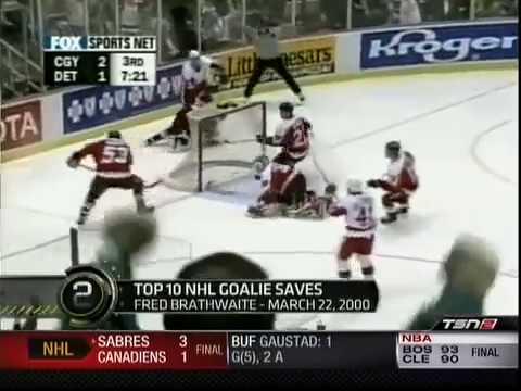 Best Goalie Best Nhl Goalie Saves Ever