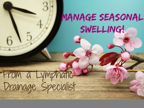Seasonal Swelling: How to Deal with Weather Changes and Pressure on the Lymphatic System