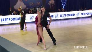 Ivan Petov - Anastasia Bespalenko, RUS, 1/16 Cha-Cha-Cha