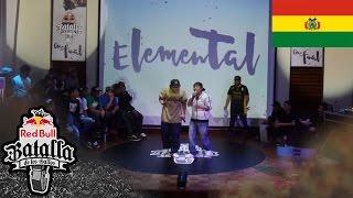 JOTA vs ELEMENTAL - Octavos: Final Nacional Bolivia 2016 - Red Bull Batalla de los Gallos