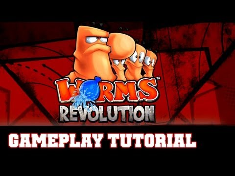 COTV - Worms Revolution TUTORIAL Gameplay