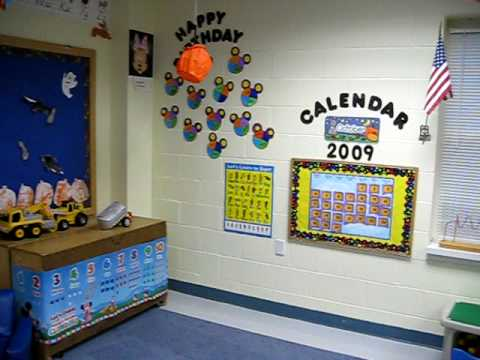Decorating Daycare Toddler Room