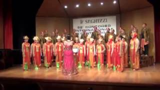 "iProud - PSM Brawijaya di International Choral Singing Competition ""Seghizzi"" 2013 Italia"