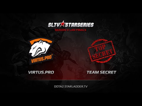 Virtuspro vs Team Secret SLTV StarSeries X Finals Game 3