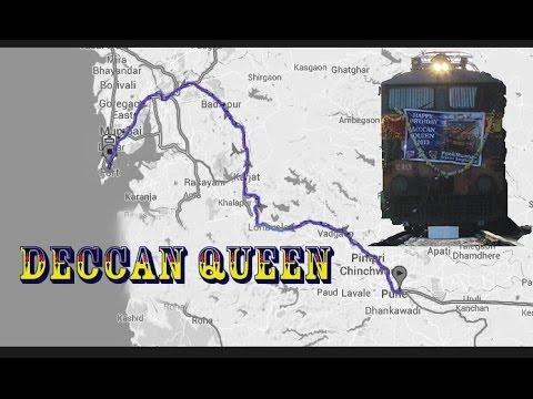 Indian Railways : Deccan Queen Journey Pune To Mumbai (2012) video