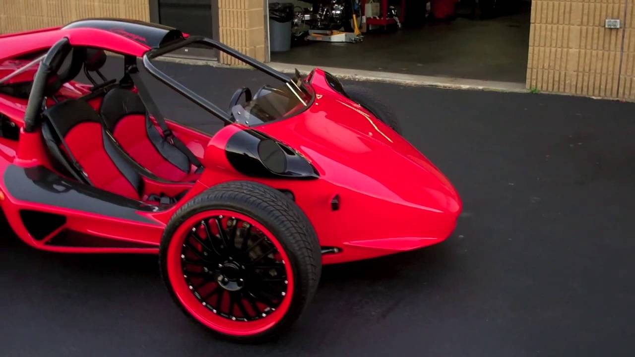 2006 Campagna T Rex 1200 Red Custom Youtube